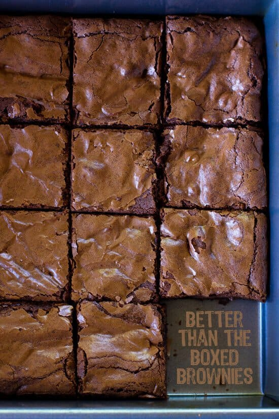 These thick & chewy better than the boxed brownies, well, they're are a game changer people.