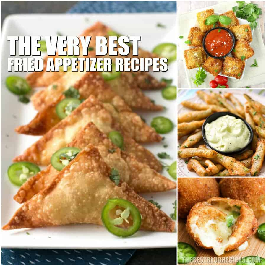 Easy Fried Appetizer Recipes are exactly what you need for every game day, party, and dinner! The texture and savory flavor of these incredible snacks will leave you with some new favorite appetizers. Try the recipes in this compilation today!