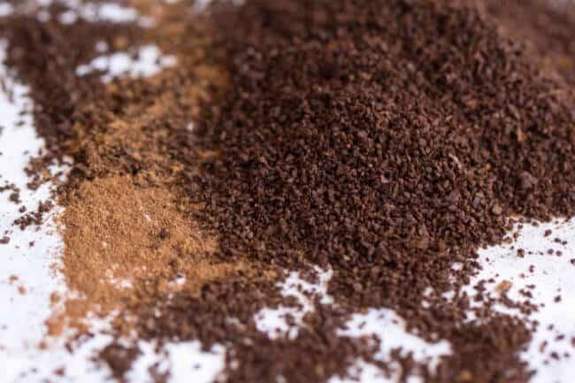 ground coffee and spice