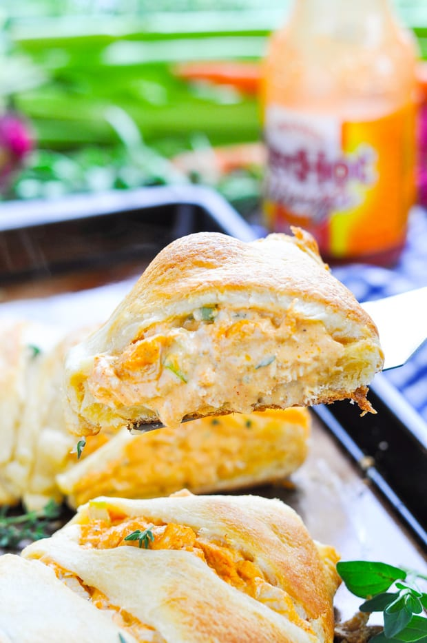 For an easy, crowd-pleasing appetizer or a quick weeknight dinner, thisBuffalo Chicken Dip Crescent Ringis always a winner! You can even prepare the dish in advance and just pop it in the oven when you're ready to serve it — no fuss and no stress necessary!