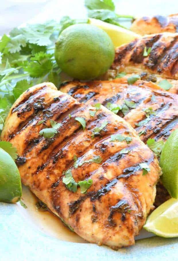 Grilled Cilantro Lime Chicken The Best Blog Recipes