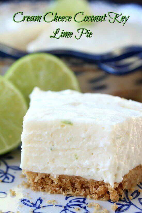 Cream Cheese Coconut Key Lime Pie The Best Blog Recipes