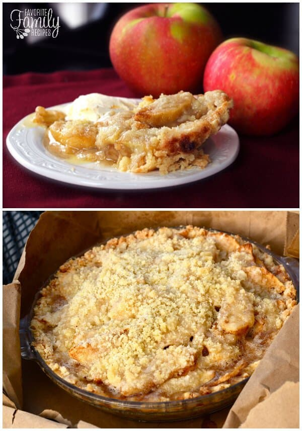 DUTCH APPLE PIE -- part of 19 MUST MAKE APPLE RECIPES FOR FALL