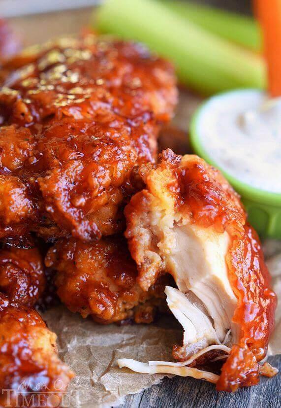 Honey Bbq Chicken Strips The Best Blog Recipes