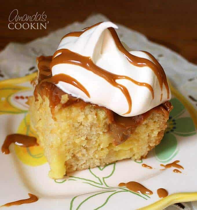 Vanilla Dream Crock Pot Cake