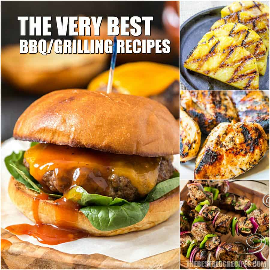 For Summer, you need the Best BBQ/Grilling Recipes to serve to your friends and family. You will be addicted to the barbecue flavors of these grilled recipes.