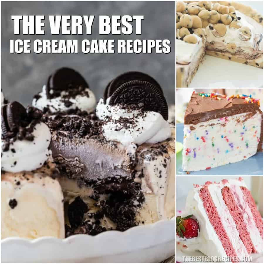 Easy Ice Cream Cake Recipes are about to become your new favorite summer desserts! With cold, smooth, creamy flavor, you will not be able to get enough of these recipes!