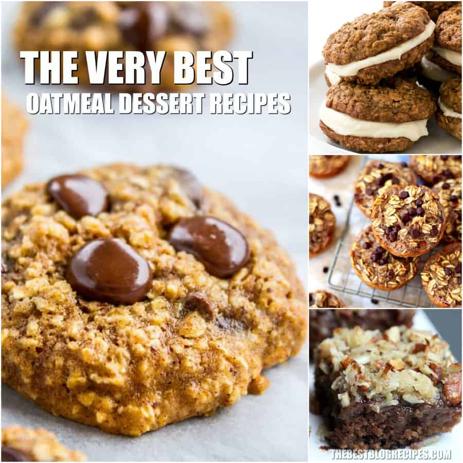 The Best Oatmeal Dessert Recipes are some of the most underrated sweet treats of all time. Once they are tried, people cannot get enough of these desserts. Get ready to have some new favorite recipes!