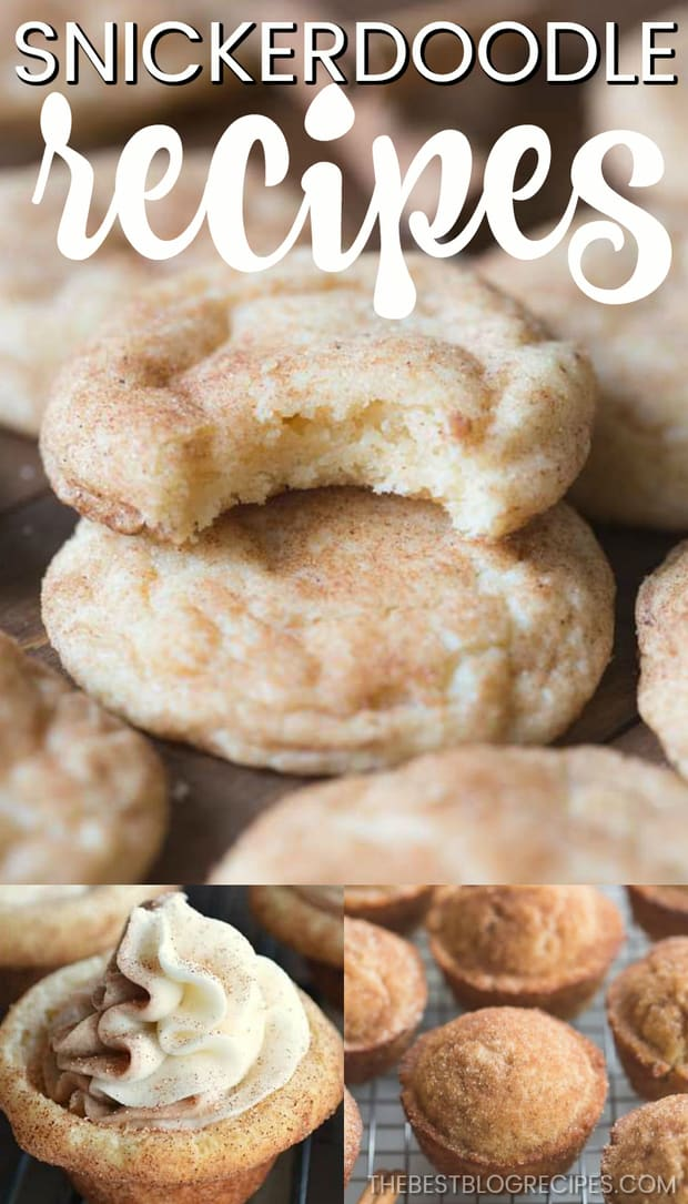 Old Fashioned Snickerdoodle Recipes are exactly what is missing from your recipe book. We all love the amazing cinnamon and sugar flavor of a classic snickerdoodle, and the recipes in this list are twists on the traditional sweet cookie we already love so much!