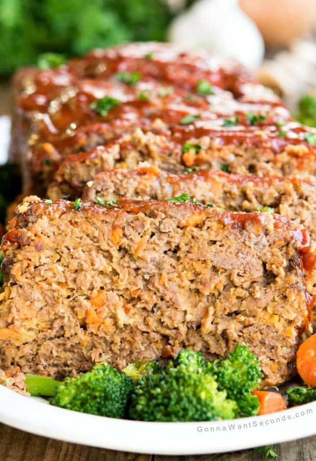 There's just no competing with the Alton Brown Meatloaf recipe. You'll make some magic in your kitchen with this beefy beauty, scientifically engineered by Mr. Brown himself to be the best!
