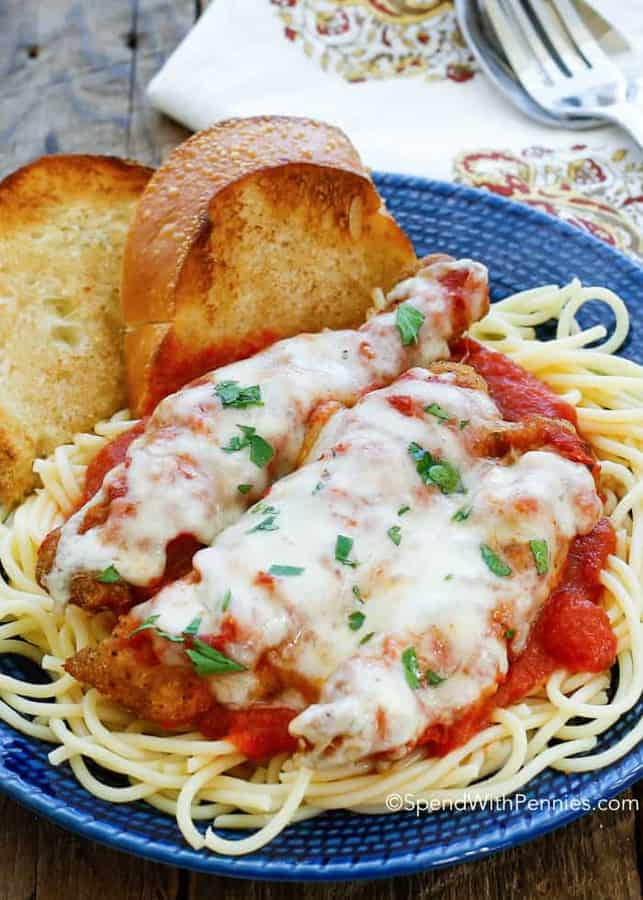 Chicken Parmesan is one of those dishes I love but just don't have time to prepare during the week.
