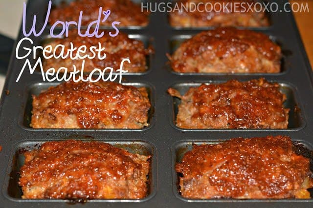 This meatloaf recipe is absolutely incredible!