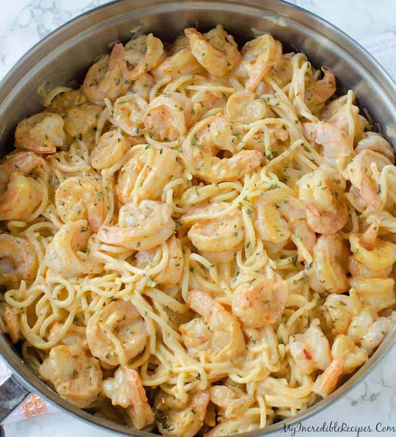 Bang Bang Shrimp Pasta