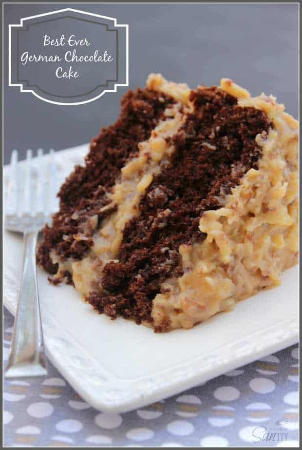 Best Ever German Chocolate Cake