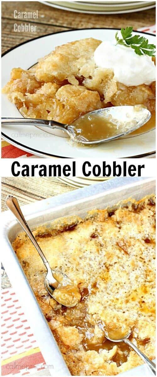 Caramel Cobbler