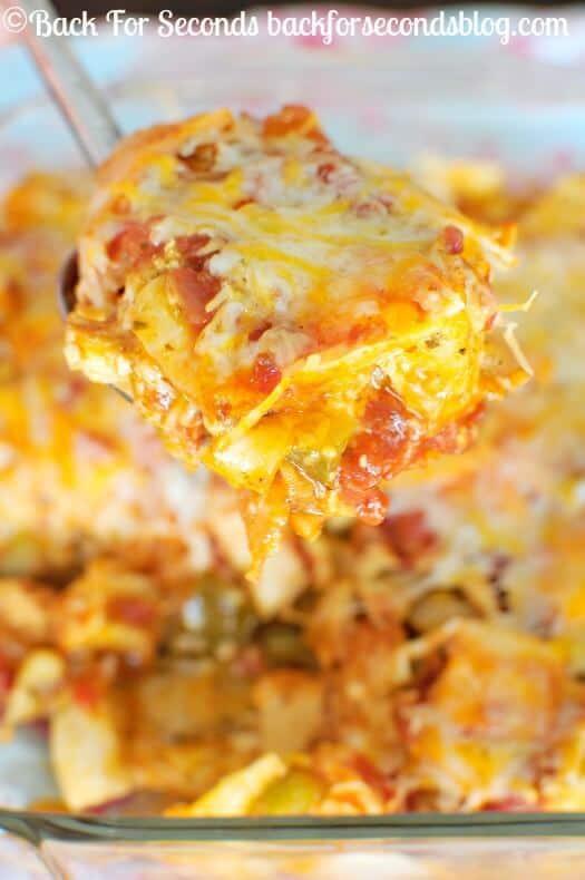 Easy Chicken Fajita Casserole The Best Blog Recipes