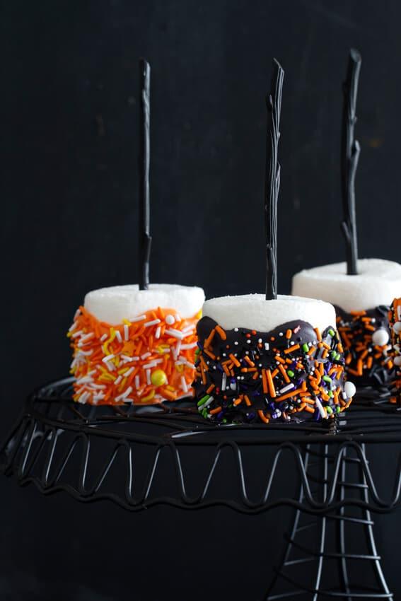 Halloween Marshmallow Pops The Best Blog Recipes