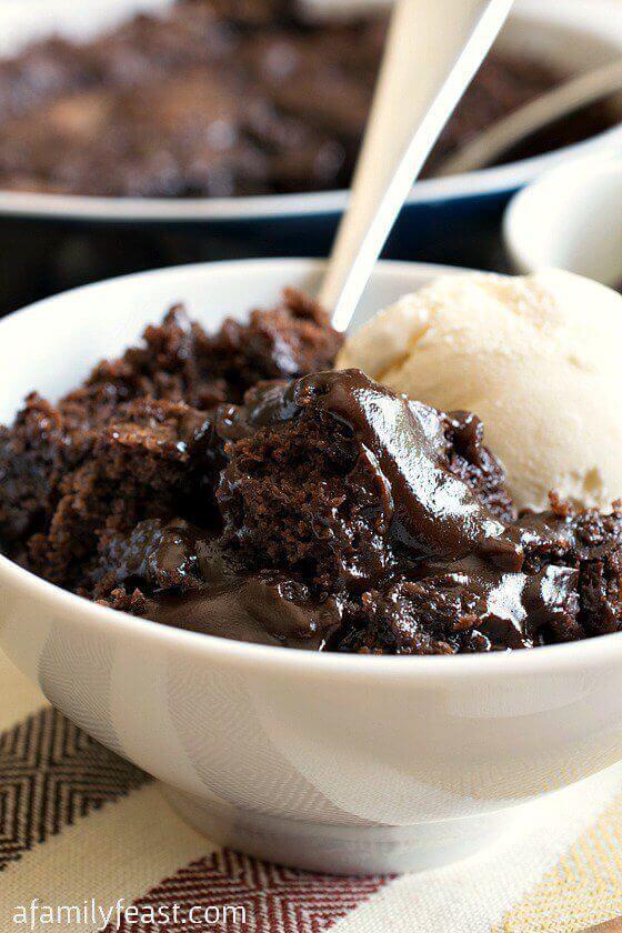 Hot Fudge Pudding Cake