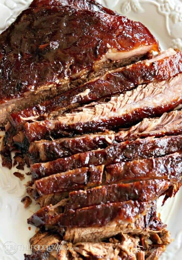 Oven Cooked Barbecue Brisket The Best Blog Recipes