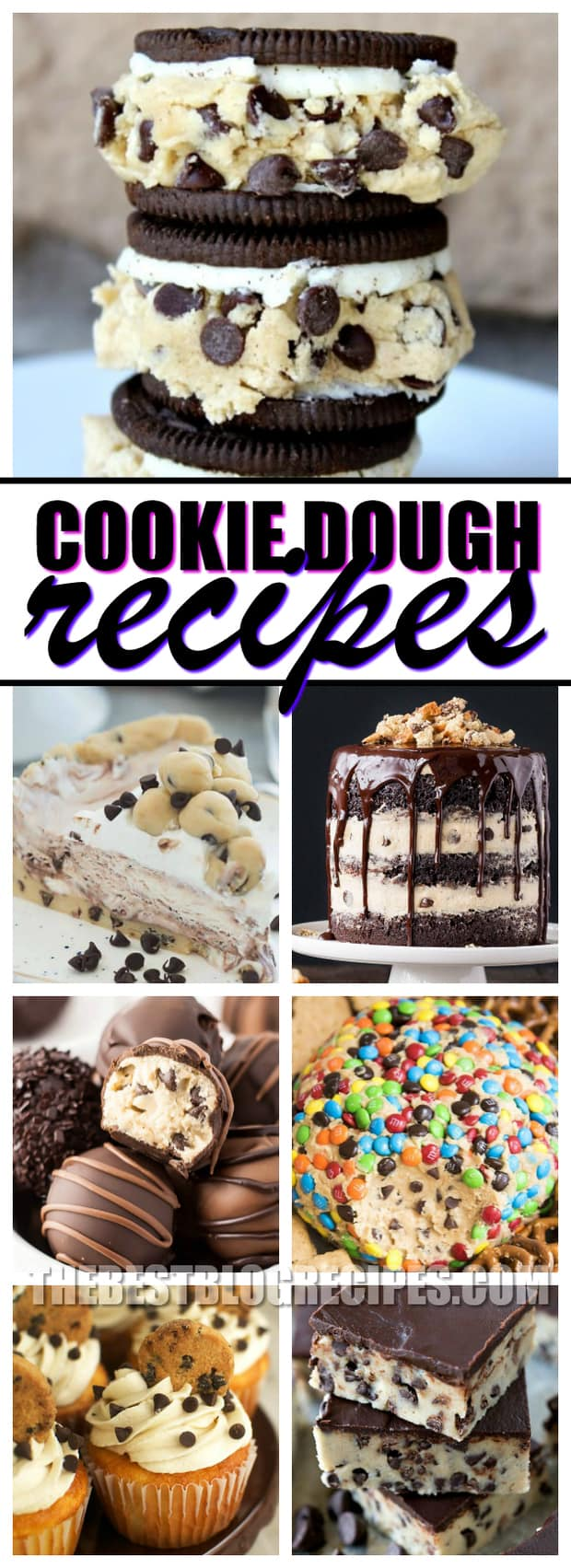 In love with Cookie Dough? So are we!!! That's why we've created the most drool-worthy, and downright sinfully delicious list of 21 Cookie Dough Recipes to make if you're OBSESSED with Cookie Dough. From stuffed Oreos, to cheesecake and fudge — they are all easy to make and oh-so incredibly delicious too!