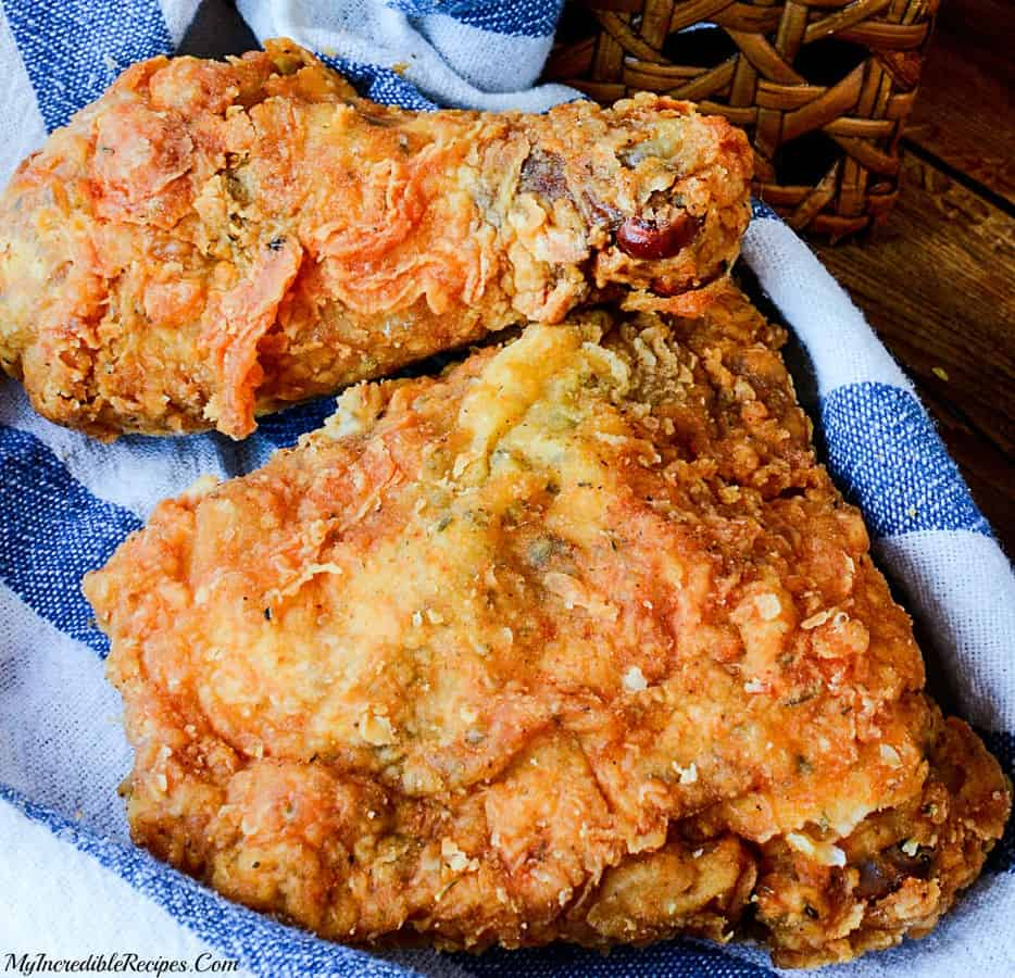 Southern KFC Secret Fried Chicken -- Part of The Best Southern Comfort Food Recipes