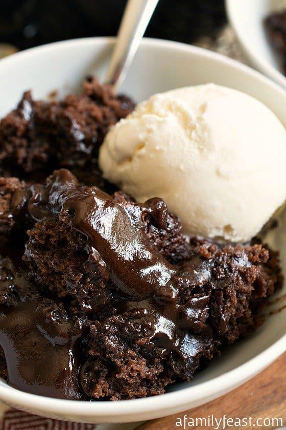 Hot Fudge Pudding Cake -- Part of The Best Hot Fudge Dessert Recipes