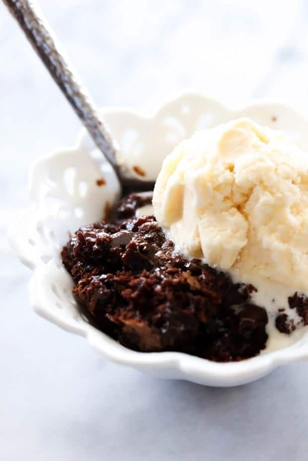 Hot Fudge Pudding Cake… A rich delicious cake that is magically develops a hot fudge base at the bottom and is spooned into a bowl for one delectable and gorgeous chocolate flowing cake.