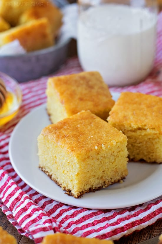 Best Buttermilk Cornbread -- Part of The Best Southern Comfort Food Recipes