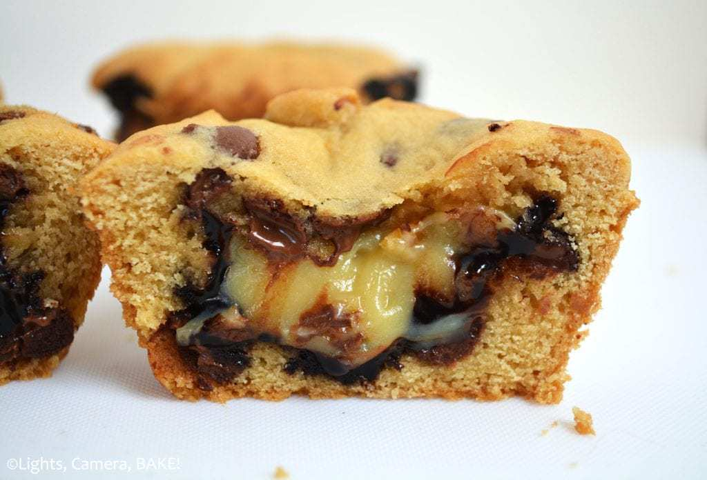 Caramel Hot Fudge Cookie Cups -- Part of The Best Hot Fudge Dessert Recipes