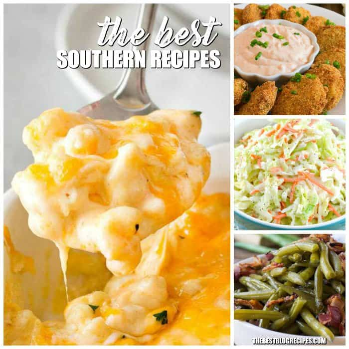 There is a reason we are all obsessed with The Best Southern Recipes. The Flavors make our mouths water and they make us feel at home. With rich tastes and amazing variety, these recipes are bound to become your new favorites!