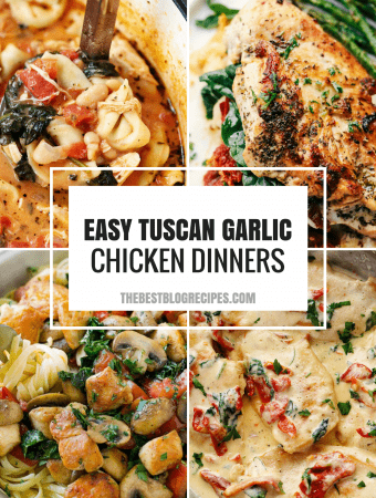 Easy Tuscan Garlic Chicken Dinners