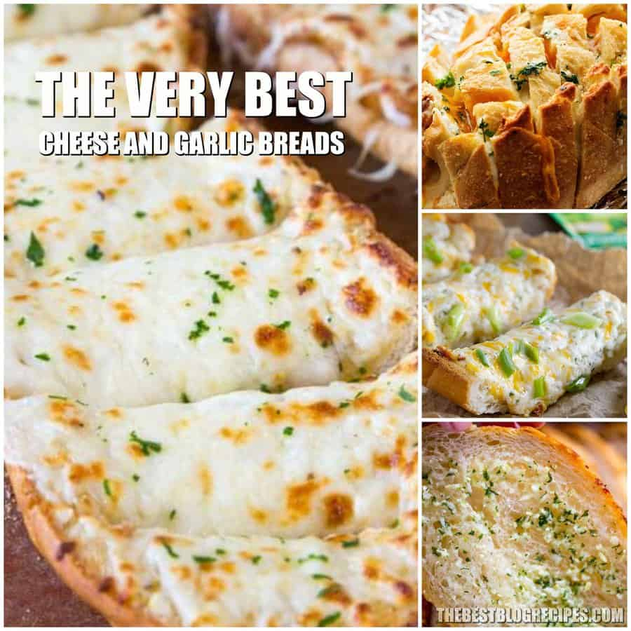 The Best Cheesy Garlic Bread Recipes