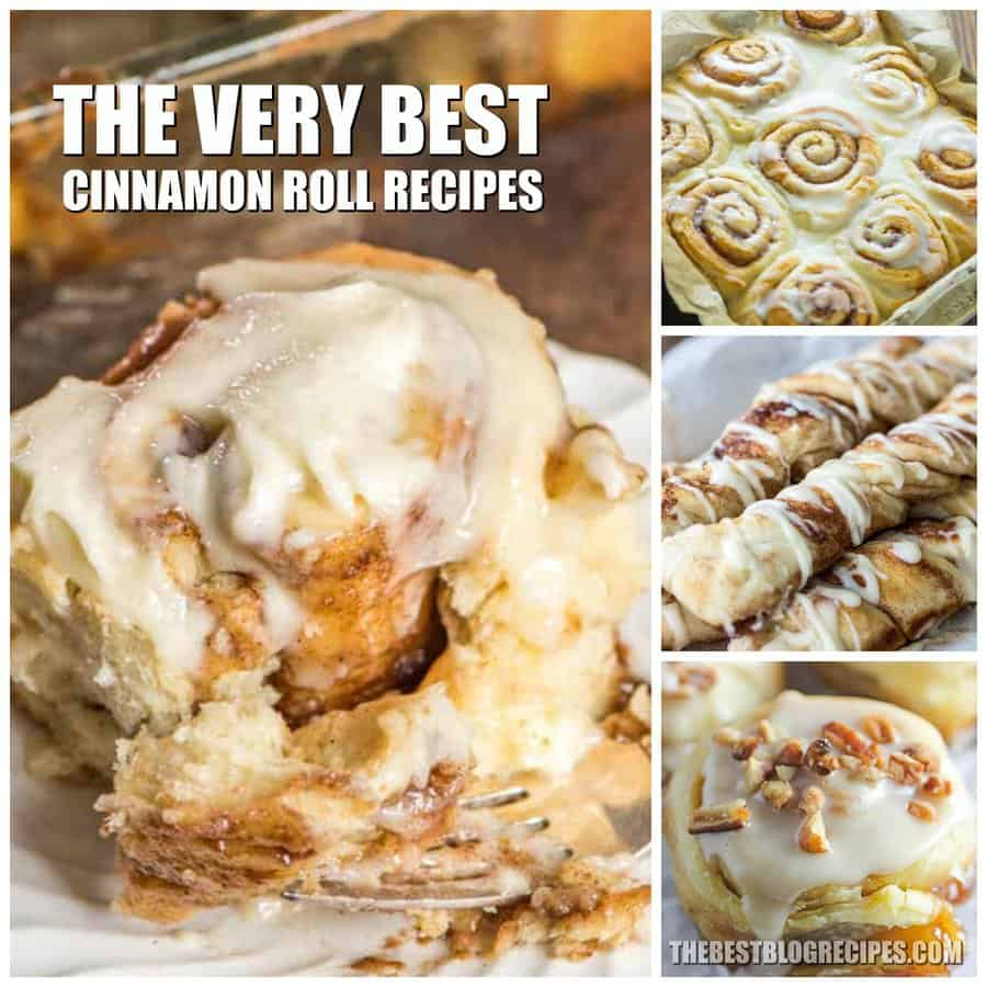 The Best Cinnamon Roll Recipes