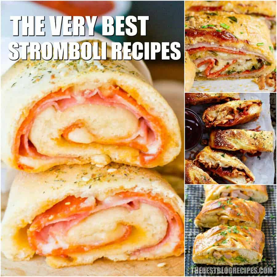 The Best Stromboli Recipes are about to change your life! You will not believe how beyond delicious these savory turnovers are!