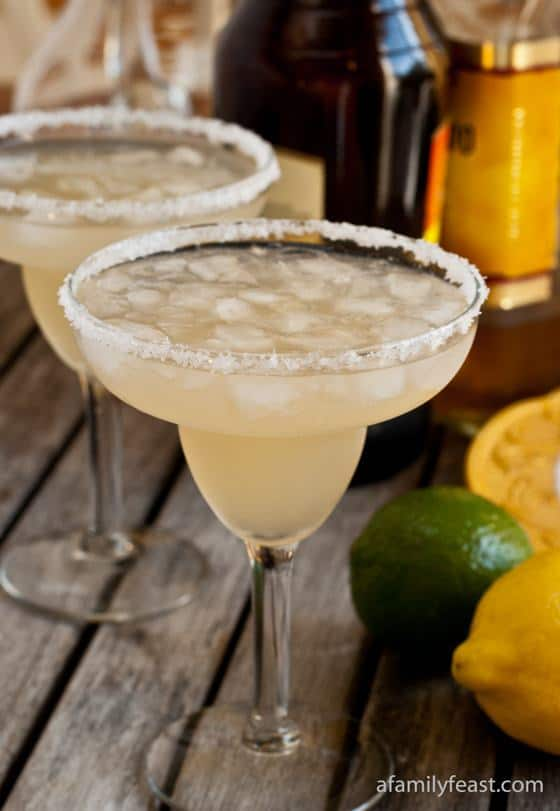Margaritas -- Part of the Best Alcoholic Drinks