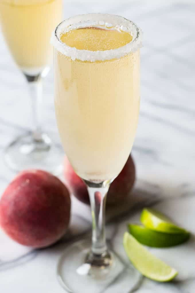 Bellini Margaritas -- Part of the Best Alcoholic Drinks