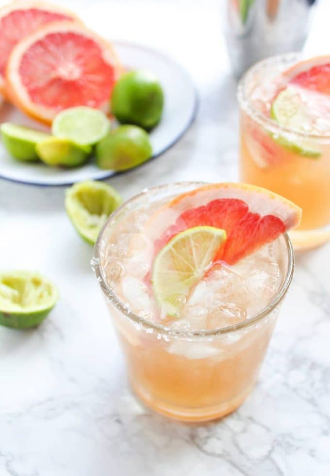 Ginger Beer Paloma Cocktails -- Part of the Best Alcoholic Drinks