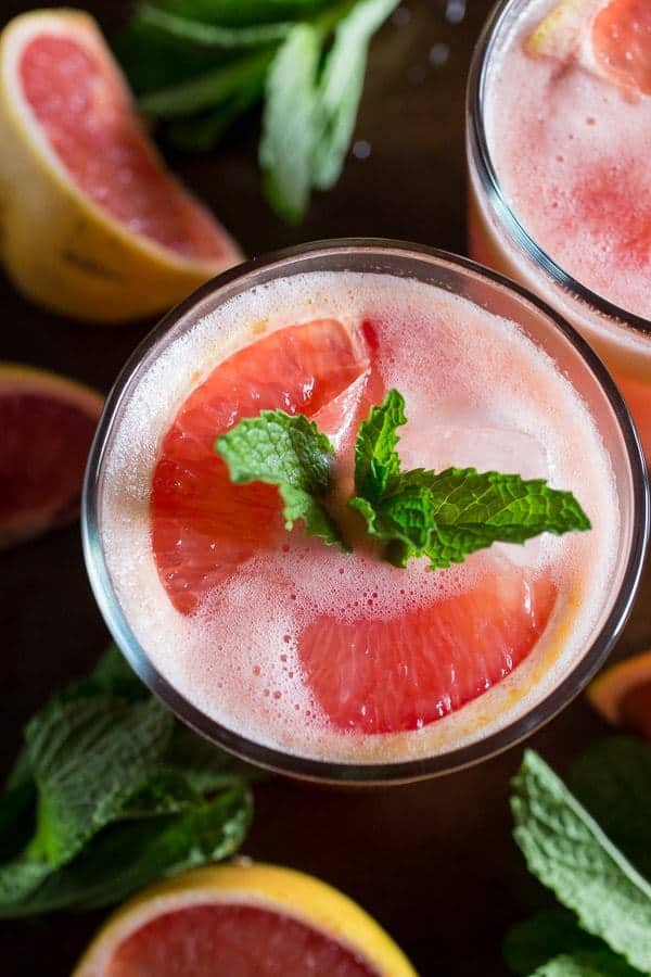Fresh Grapefruit Margarita -- Part of the Best Alcoholic Drinks