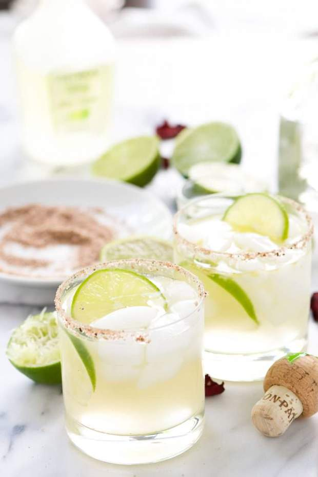 Spicy Rosa Picante Margarita -- Part of the Best Alcoholic Drinks