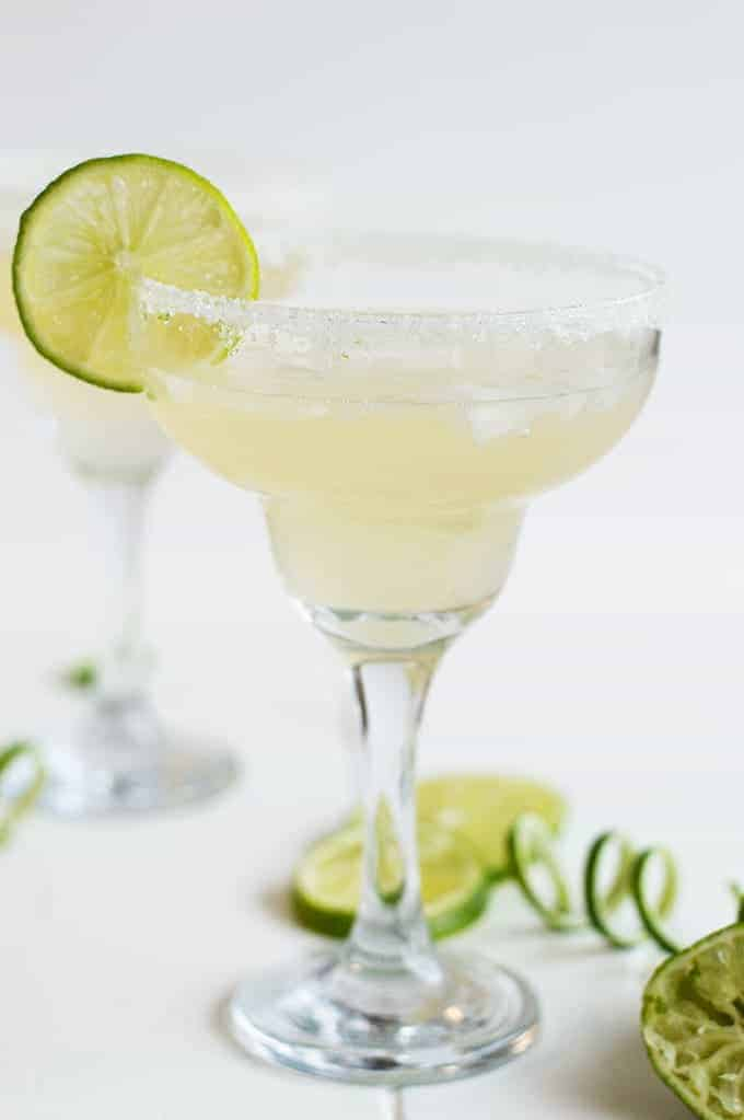 Champagne Margaritas -- Part of the Best Alcoholic Drinks