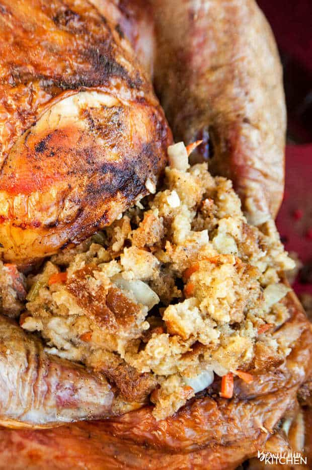 Homemade Turkey Stuffing