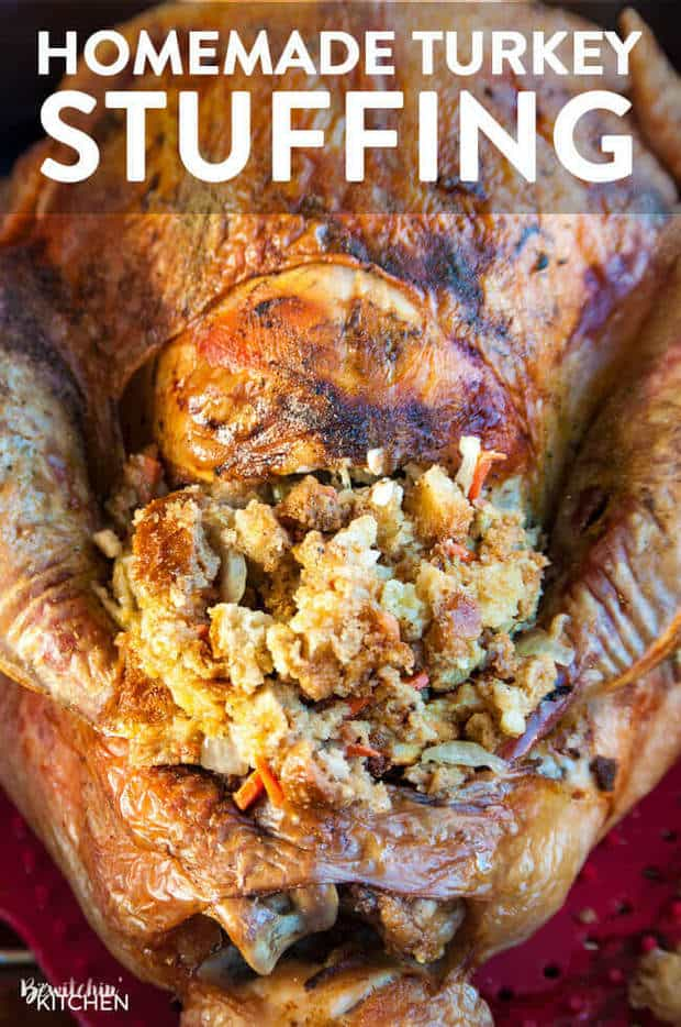 Homemade Turkey Stuffing