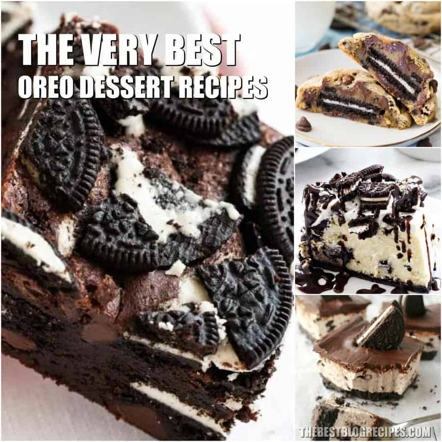Easy Oreo Dessert Recipes are something that everyone needs in their life. You will not believe how incredible these Oreo treats are!