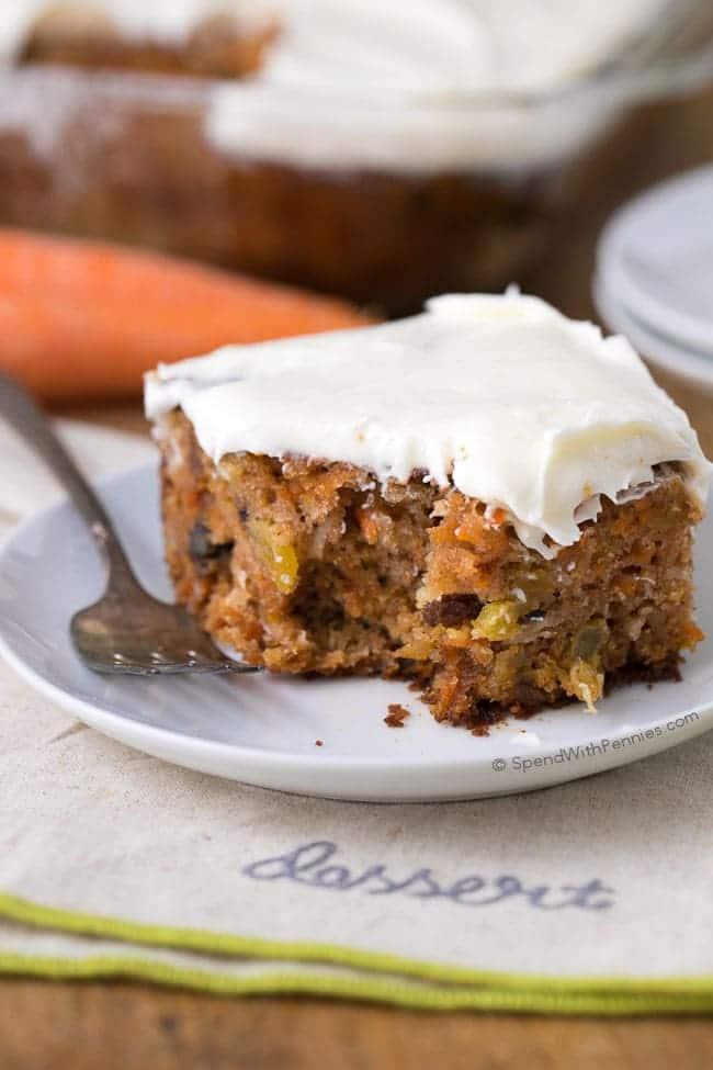 Small Carrot Cake Recipe Homemade