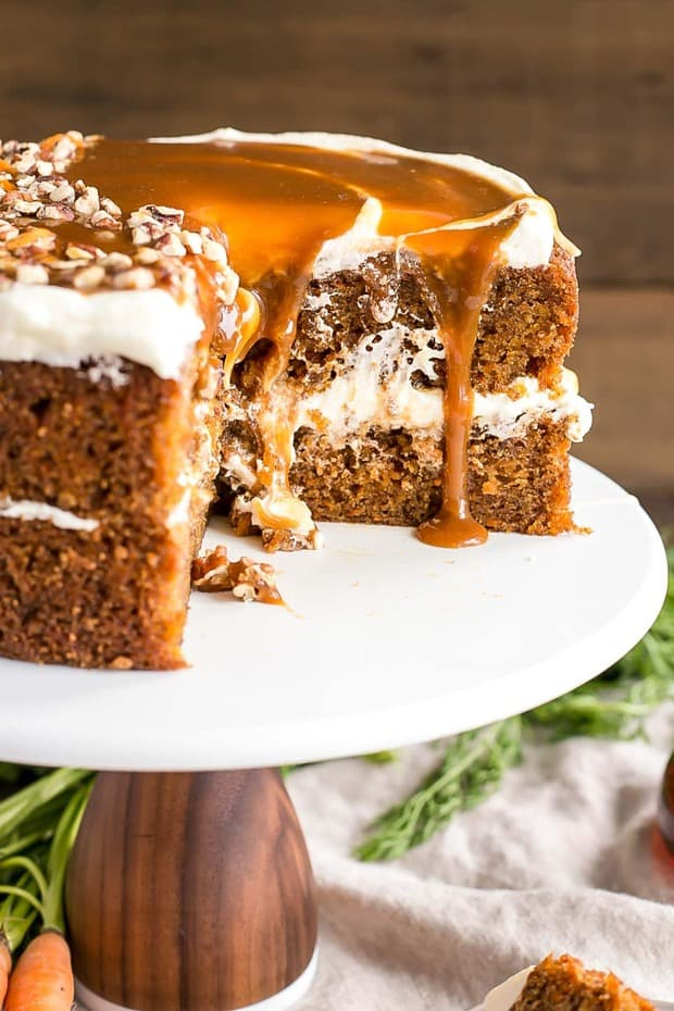 Fully Loaded Carrot Cake