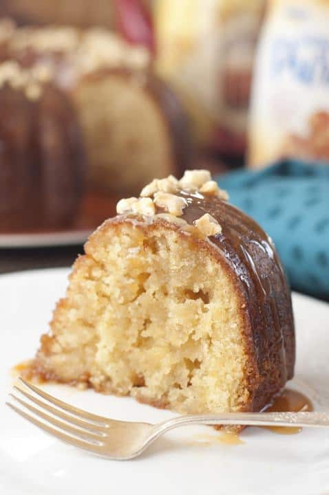 alted Caramel Kentucky Butter Cake is a homemade moist and buttery cake recipe with an irresistible caramel butter sauce that is rich, addictive, delicious, and soaks right into the cake!