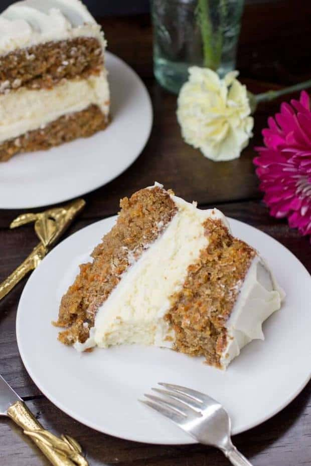 Easy Banana And Carrot Cake With Cream Cheese Icing