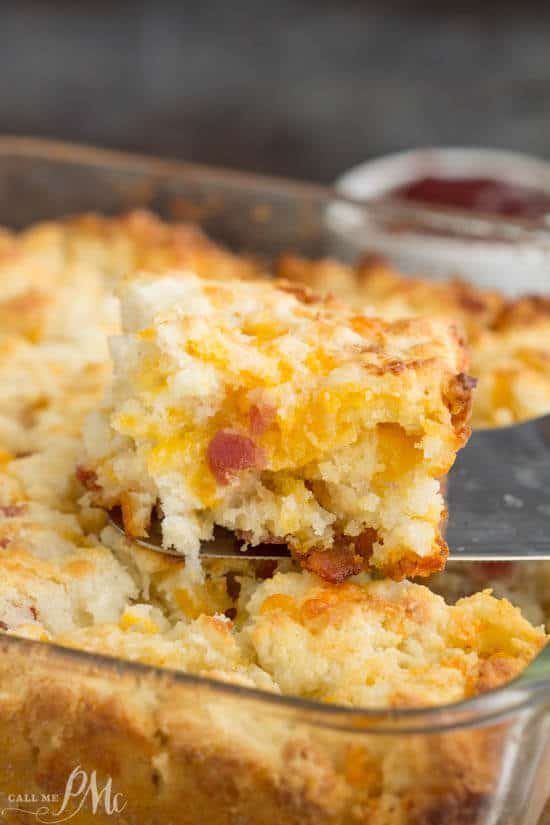 Bacon Cheese Butter Pan Biscuits The Best Blog Recipes