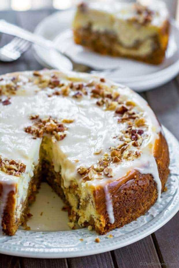 Carrot Cake Cheesecake The Best Blog Recipes