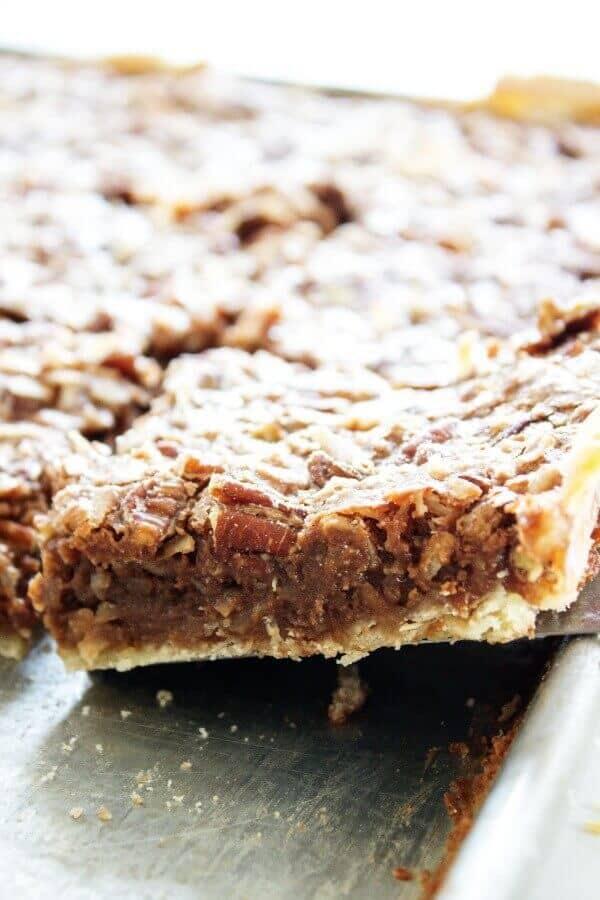German Chocolate Slab Pie